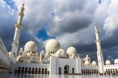Sheikh Zayed Mosque, Abu Dhabi, Vereinigte Arabische Emirate Lizenzfreies Stockbild