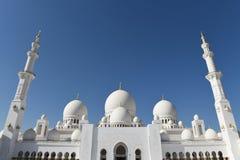 Sheikh Zayed Mosque in Abu Dhabi, Vereinigte Arabische Emirate I, UAE Stockfoto