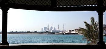 Sheikh Zayed Mosque Abu Dhabi Royalty Free Stock Images