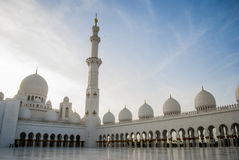 Sheikh Zayed Mosque bei Abu Dhabi, UAE, Uniter-Araber-Emirate Stockfoto