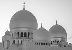 Sheikh Zayed Mosque, de V.A.E Stock Fotografie