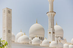 Sheikh Zayed Mosque, die große großartige Marmorierungmoschee bei Abu Dhabi, UAE Lizenzfreie Stockbilder