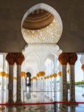 Sheikh Zayed Mosque em Abu Dhabi, UAE Imagem de Stock Royalty Free