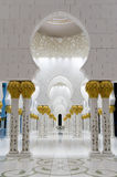 Sheikh Zayed Mosque en Abu Dhab Images libres de droits