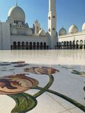 Sheikh Zayed Mosque en Abu Dhabi Imágenes de archivo libres de regalías