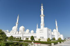 Sheikh Zayed Mosque en Abu Dhabi, United Arab Emirates i, UAE Imagen de archivo
