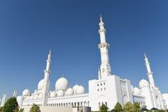 Sheikh Zayed Mosque en Abu Dhabi, United Arab Emirates i, UAE Foto de archivo