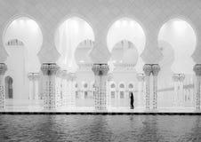 Sheikh Zayed Mosque et femmes images libres de droits
