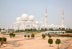 Sheikh Zayed mosque Royalty Free Stock Photography