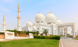 Sheikh Zayed mosque Stock Images