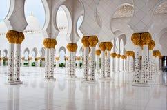 Sheikh Zayed Mosque il 5 giugno 2013 in Abu Dhabi. Immagine Stock Libera da Diritti
