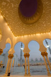 Sheikh Zayed Mosque. Interior of Sheikh Zayed Mosque in Abu Dhabi, United Arab Emirates Stock Image