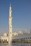 Sheikh Zayed Mosque interiors. Interior of Sheikh Zayed Mosque Royalty Free Stock Photo