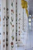 Sheikh Zayed Mosque interiors. Interior of Sheikh Zayed Mosque Stock Photo