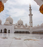 Sheikh Zayed Mosque on June 5, 2013 Stock Photos