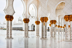 Sheikh Zayed Mosque on June 5, 2013 Royalty Free Stock Image