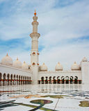 Sheikh Zayed Mosque on June 5, 2013 in Abu Dhabi. Stock Photography