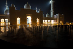 Sheikh Zayed Mosque. Landmark muslim mosque in Abu Dhabi Royalty Free Stock Image