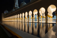 Sheikh Zayed Mosque. Landmark muslim mosque in Abu Dhabi Stock Photos