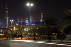 Sheikh Zayed Mosque. Landmark muslim mosque in Abu Dhabi Royalty Free Stock Photos