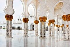 Sheikh Zayed Mosque le 5 juin 2013 Image libre de droits