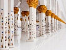 Sheikh Zayed Mosque le 5 juin Image libre de droits