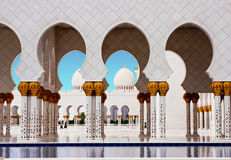 Sheikh Zayed Mosque le 5 juin Photographie stock