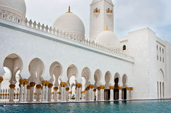 Sheikh Zayed Mosque le 5 juin 2013 Photos stock