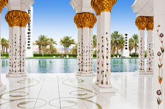Sheikh Zayed Mosque le 5 juin 2013 en Abu Dhabi. Photo stock