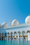 Sheikh Zayed Mosque Royalty Free Stock Photo