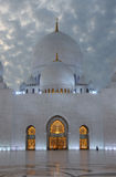 Sheikh Zayed Mosque at night Stock Photos