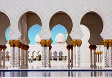Sheikh Zayed Mosque o 5 de junho Fotografia de Stock