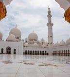 Sheikh Zayed Mosque o 5 de junho de 2013 Fotos de Stock
