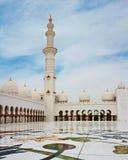 Sheikh Zayed Mosque o 5 de junho de 2013 em Abu Dhabi. Fotografia de Stock