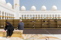 Sheikh Zayed Mosque Shoes Rack, The Great Marble Grand Mosque at Abu Dhabi, UAE Royalty Free Stock Photos