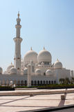 Sheikh Zayed Mosque Side View Stock Photos