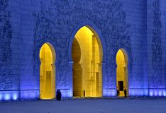 Sheikh zayed mosque UAE Royalty Free Stock Photo