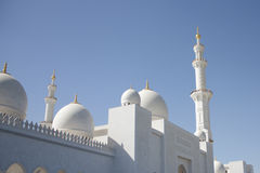The Sheikh Zayed mosque. Abu Dhabi Stock Image