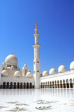Sheikh Zayed Mosque (White Mosque) in Abu Dhabi, UAE Royalty Free Stock Photo