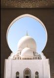Sheikh Zayed Mosque (White Mosque) in Abu Dhabi, UAE Stock Photos