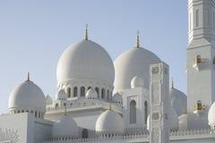 Sheikh Zayed Mosquera Αμπού Ντάμπι Στοκ Φωτογραφία