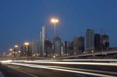 Sheikh Zayed Road, Dubai Royalty Free Stock Images