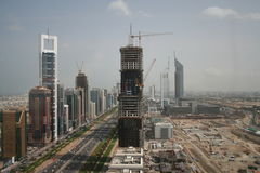 Sheikh Zayed Road Dubai UAE Stock Image