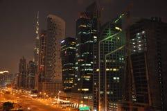 Sheikh Zayed Road in Dubai, UAE Lizenzfreie Stockfotografie
