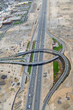 Sheikh Zayed Road Interchange Royalty Free Stock Photos