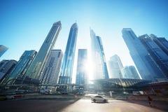 Sheikh Zayed road Royalty Free Stock Photography