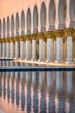 Sheikh Zayed White Mosque in Abu Dhabi Stockfoto