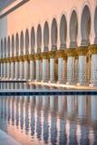 Sheikh Zayed White Mosque in Abu Dhabi Stockfotografie