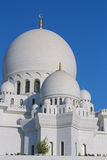 Sheikh Zayed White Mosque Royalty Free Stock Image
