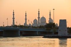 Sheikh Zayed White Mosque in Abu Dhabi, UAE Lizenzfreie Stockfotografie